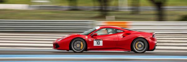 Ferrari Spyder Magny cours
