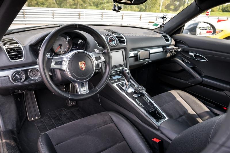 Intérieure Porsche Cayman S