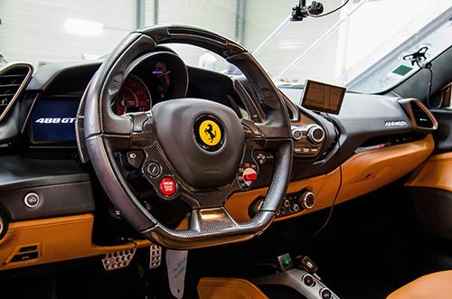 Intérieur Ferrari 488 GTB