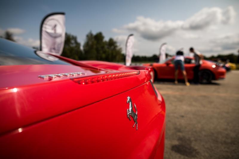 Arrière de la Ferrari 488 GTB