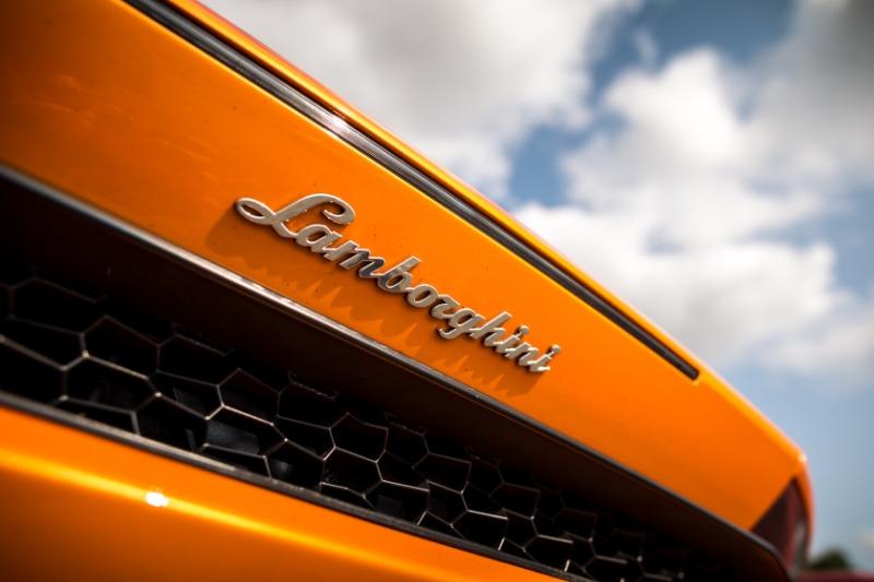 Arrière Lamborghini