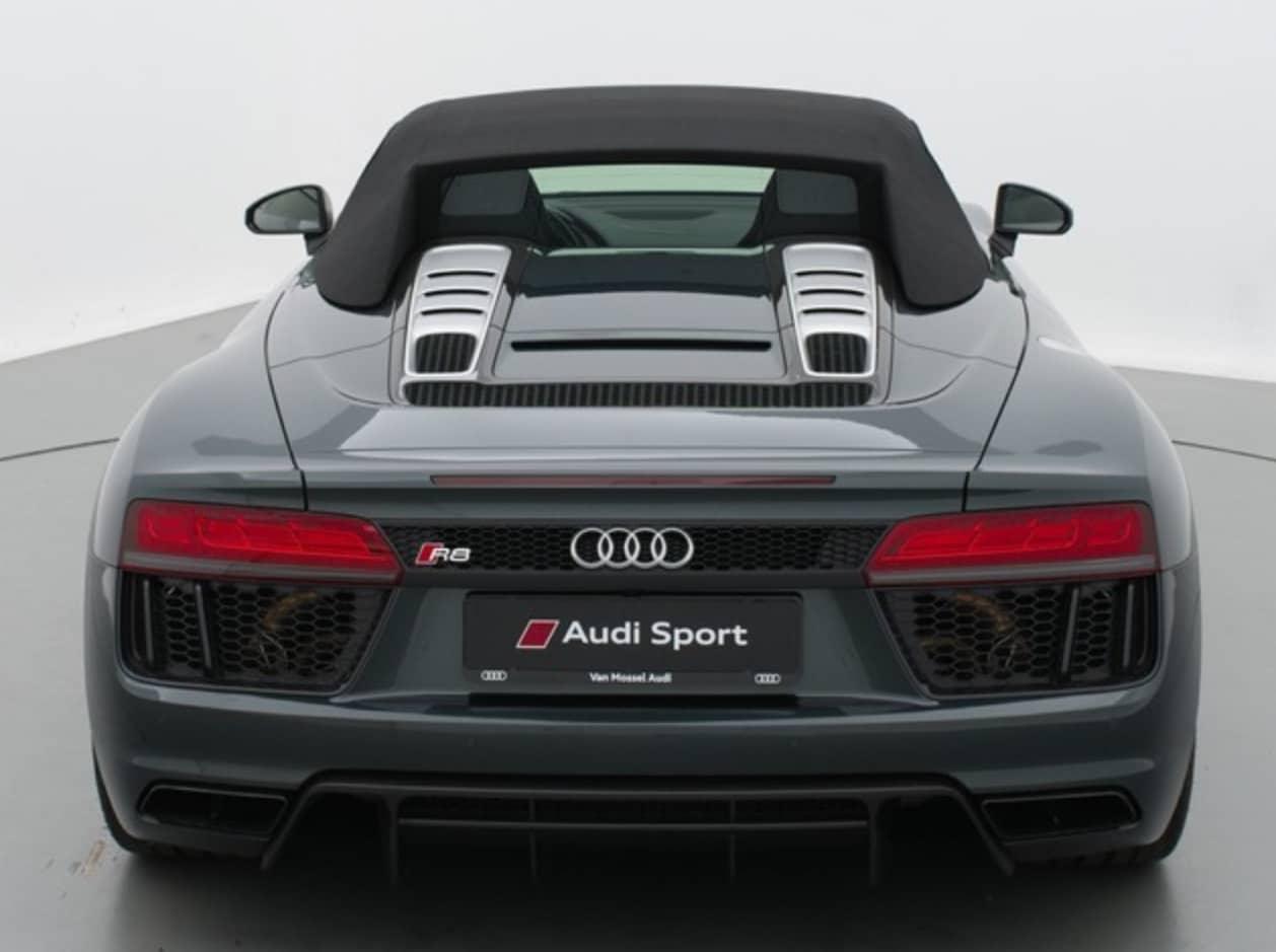 Audi R8 - Vue arrière