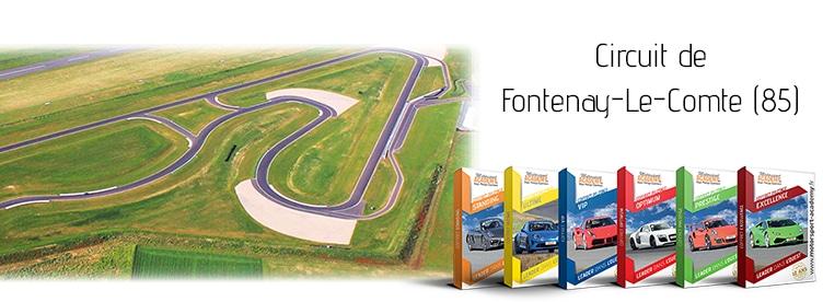 Découvrez les coffrets présents sur le circuit de Fontenay-Le-Comte