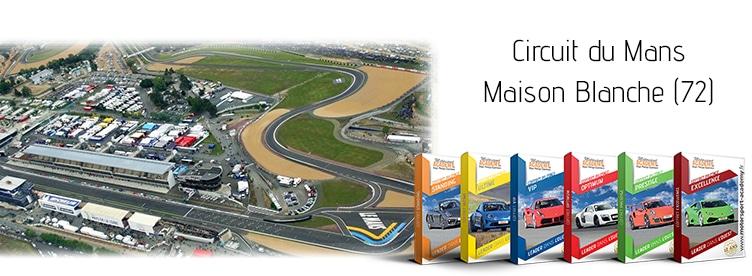 Découvrez les coffrets présents sur le circuit du Mans - Maison Blanche