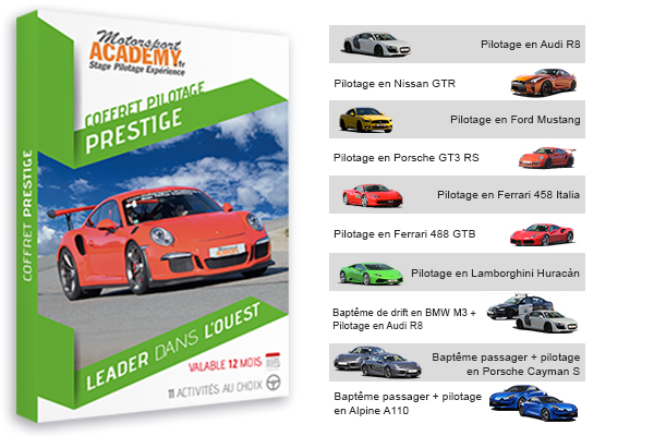 Coffret Prestige - Motorsport Academy