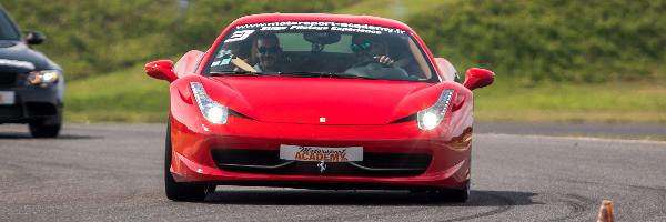 Pilotage en Ferrari