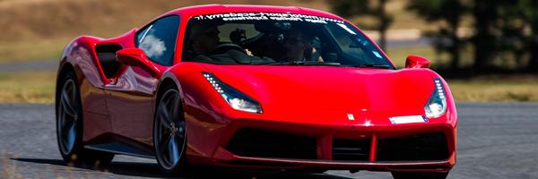 Pilotage en Ferrari 488GTB