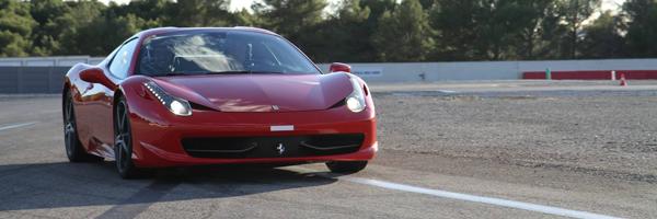 Piloter Ferrari Spyder Alès