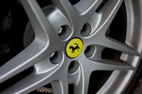 jante de la Ferrari 458 Italia