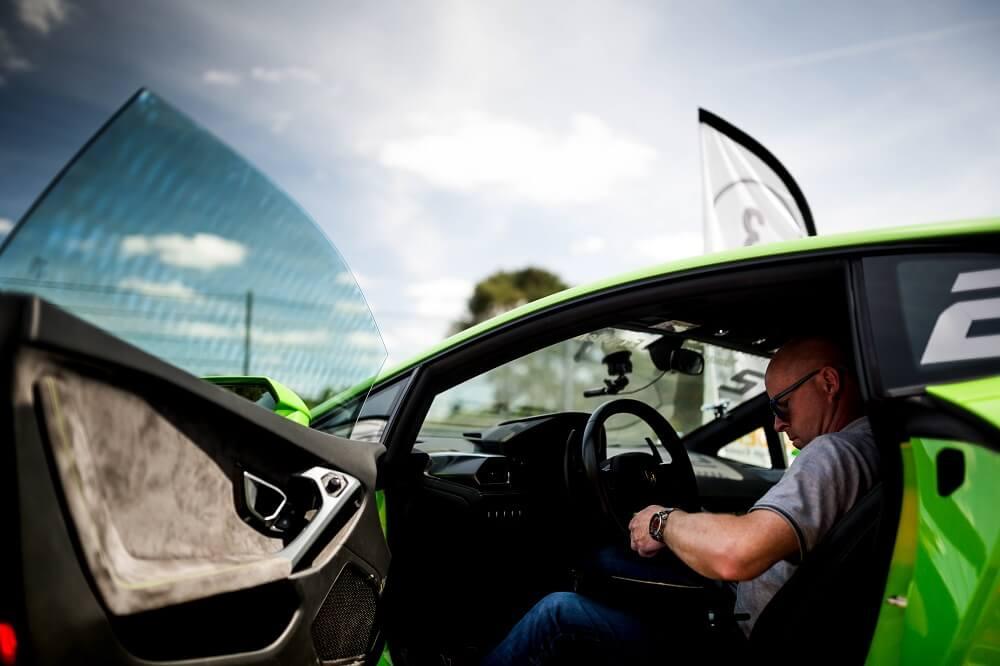 Stage de pilotage en Lamborghini Huracan