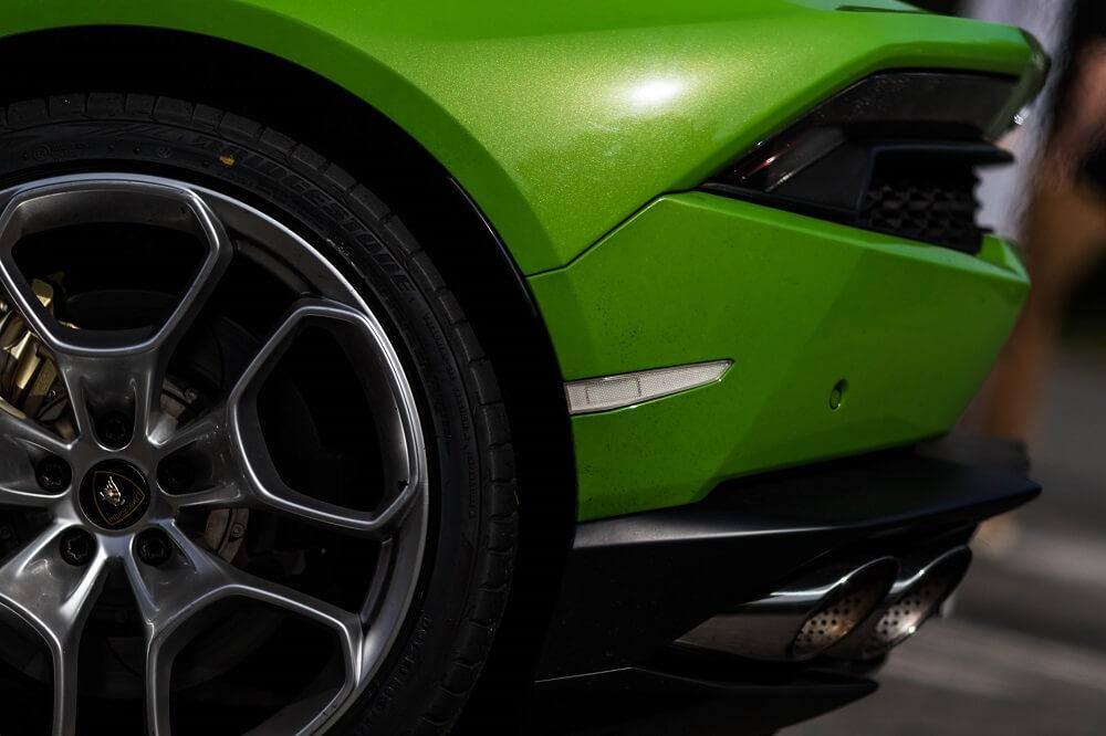 Roues de la Lamborghini Huracán