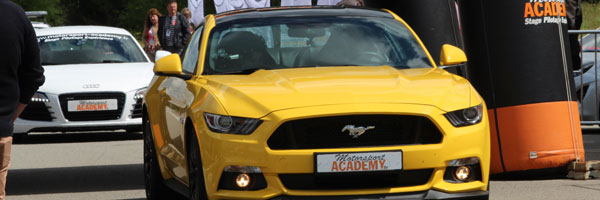 ford mustang au stand motorsport academy