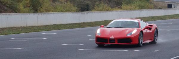 Piloter Ferrari Spyder sud est