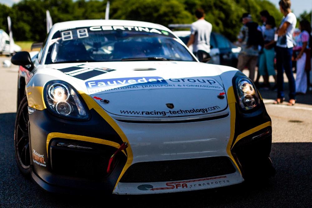 Stage de pilotage en Porsche Cayman GT4 CS
