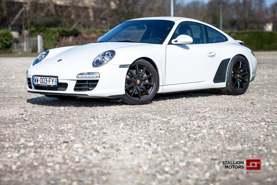 Une Porsche occasion d'Allemagne importée par un mandataire