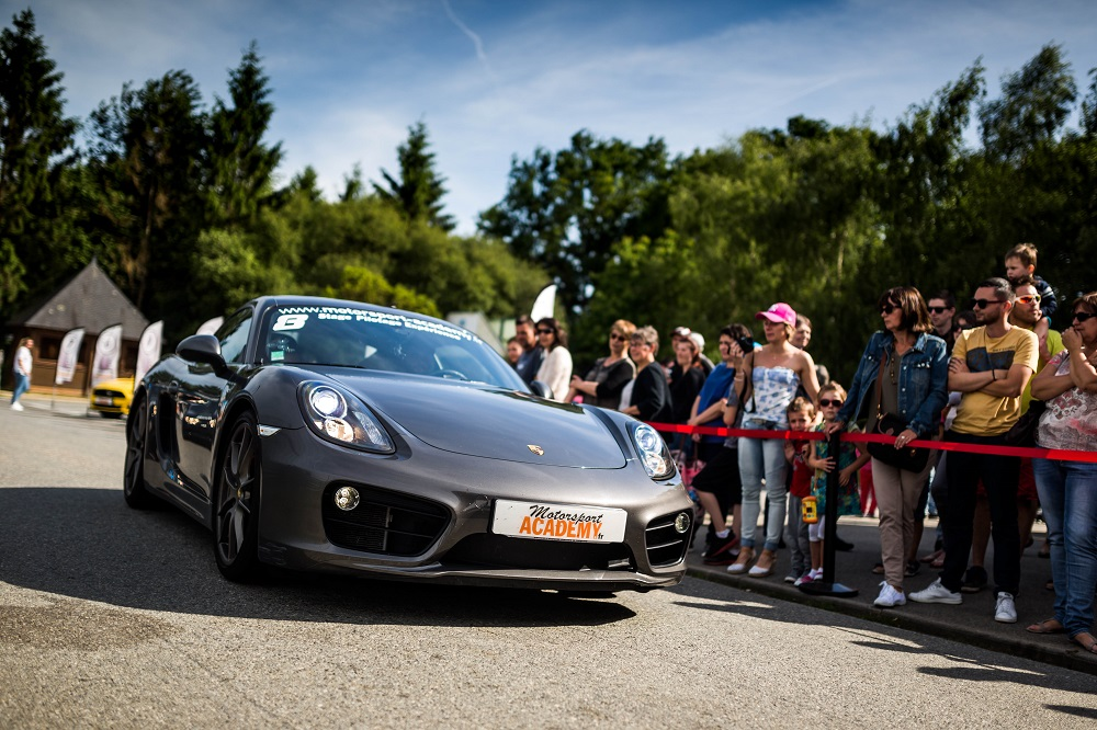 Stage en Porsche Cayman S