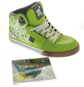 Ken Block shoes et GRID 2