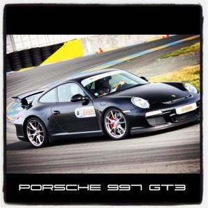 Porsche 997 GT3 sur circuit
