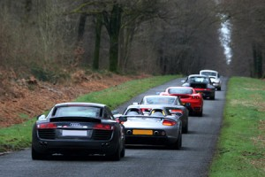 Rallye de Paris en GT