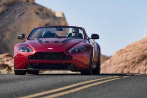 La supercar Aston martin V12 S