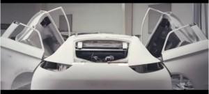 Image de la vidéo présentant la genèse de la Divine DS