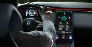 Image de la publicité présentant le concept Renault Eolab