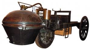 La première voiture de l'histoire, la Fardier