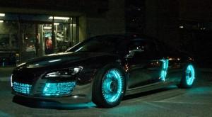 La voiture d'inspiration Tron Legacy