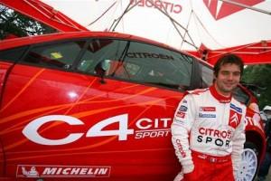 Le pilotage : Sébastien Loeb