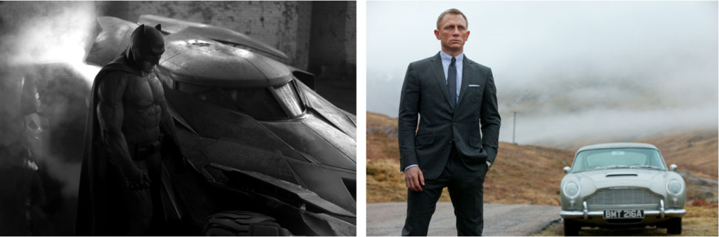 James Bond - Batman