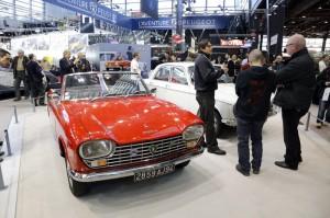 Retromobile 2015 - Peugeot204 cabriolet 1967