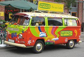 Combiné volkswagen décoré