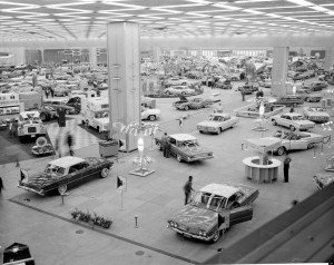Le National Auto Show à Detroit