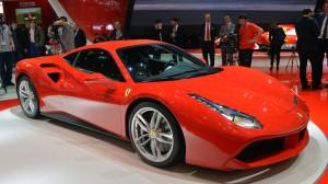 Ferrari 488 GTB au salon de Genève