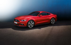 La nouvelle mustang disponible en Europe