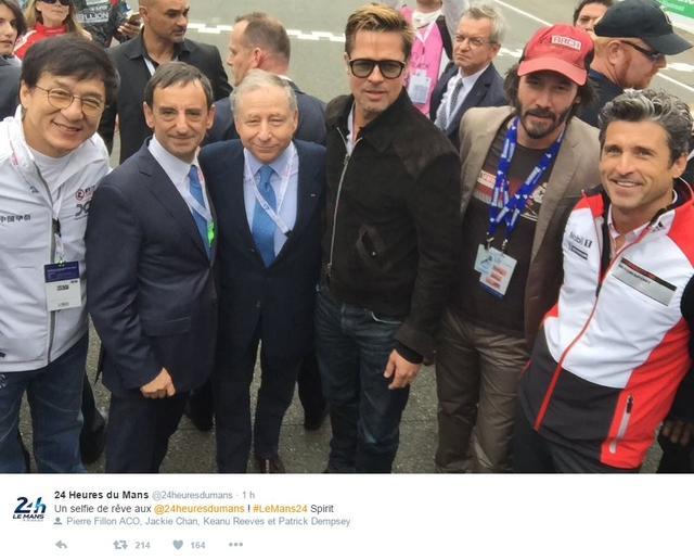 Brad Pitt 24h du Mans