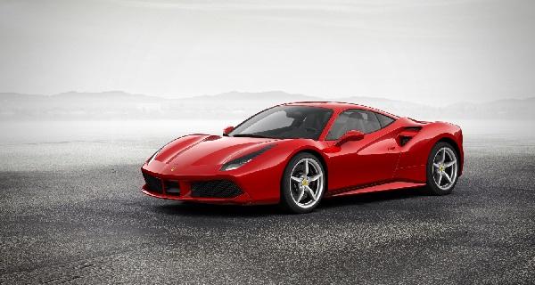 Consommation essence Ferrari F488 GTB