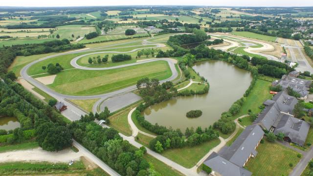 Circuit de Lohéac dans l'Ouest de la France