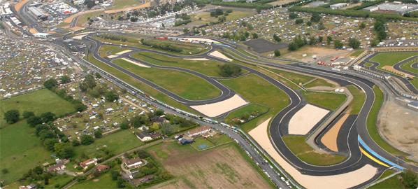 Circuit de Maison Blanche dans l'Ouest de la France