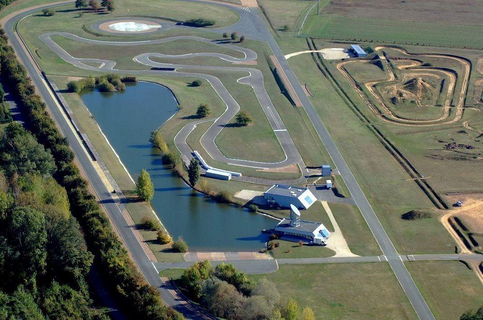 Circuit Val de Loire dans l'Ouest français