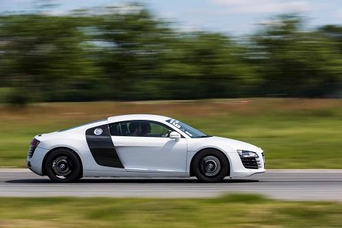 Conduire une Audi sur circuit